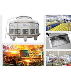 Tháp giải nhiệt nước công nghiệp-water cooling tower chính hãng chất lượng