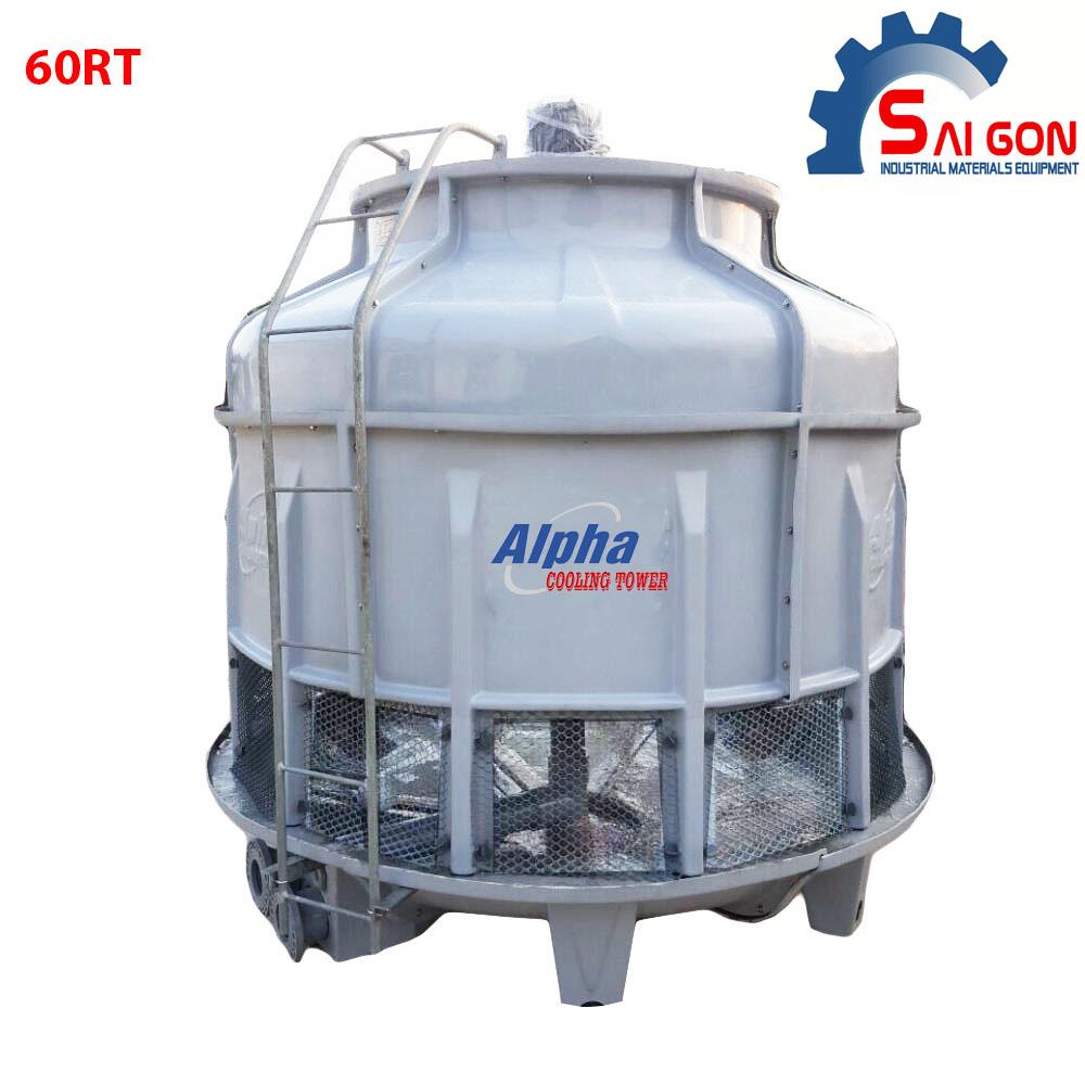 tháp giải nhiệt alpha 60RT, tháp giải nhiệt kích thước chuẩn, chất lượng cao, hiệu suất tốt