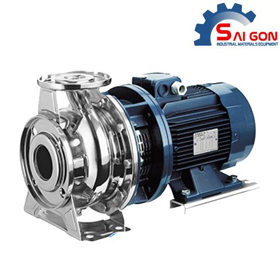 Máy bơm ly tâm đầu inox Ebara 3M40-125/2.2 3HP