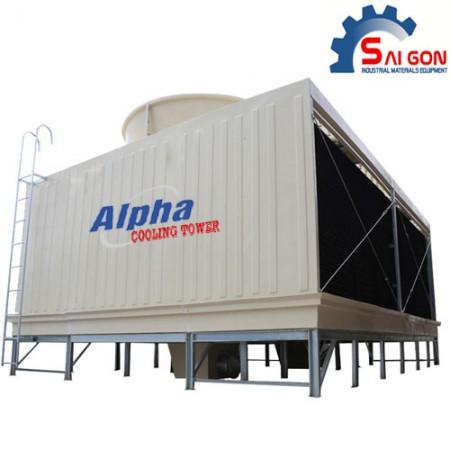 Tháp giải nhiệt alpha vuông 500Rt thiết bị công nghiệp sài gòn 001