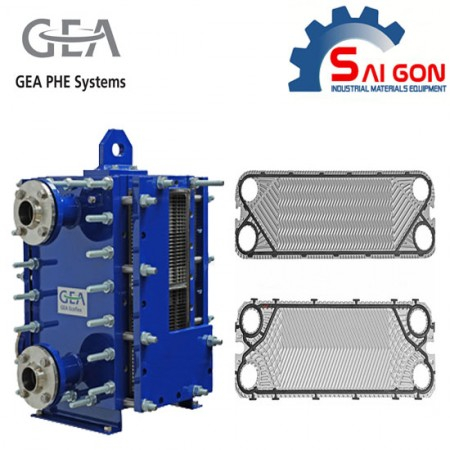 Gaskets Plates Heat Exchangers for Gea Products thiết bị công nghiệp sài gòn 01