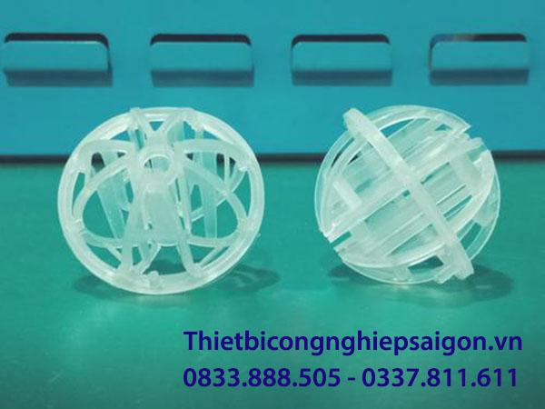 giá thế vi sinh dạng cầu d50 chất liệu pp phân phối bởi thiết bị công nghiệp sài gòn 01